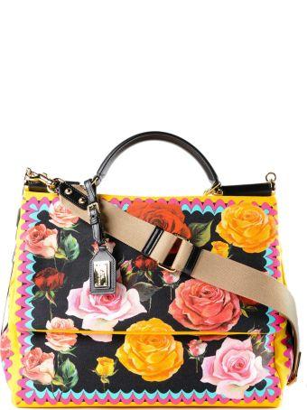 Dolce & Gabbana Canvas St.rose Handbag