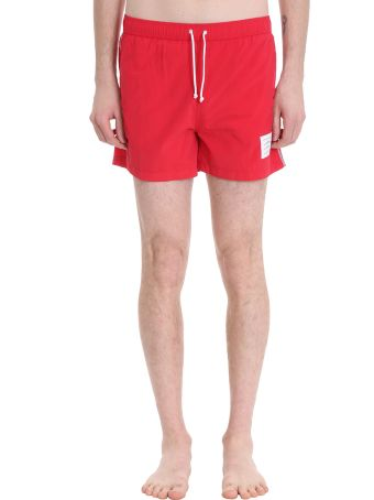 Thom Browne Polyamide Red Swimwear