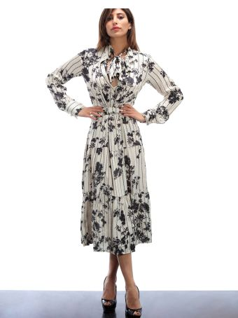 Altalana White And Black  Printed Dress 32-fancy