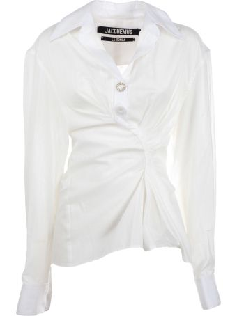 Jacquemus La Chemise Macelo Asymmetric Shirt