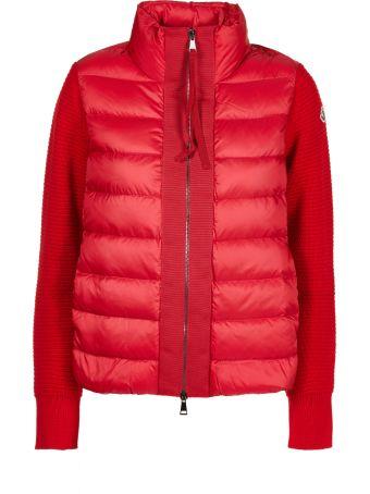 Moncler Paneled Puffer Jacket