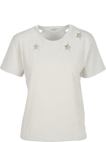 Saint Laurent Tshirt Stelle Hole