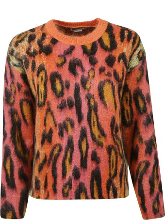 Stella Mccartney Leopard Print Sweater