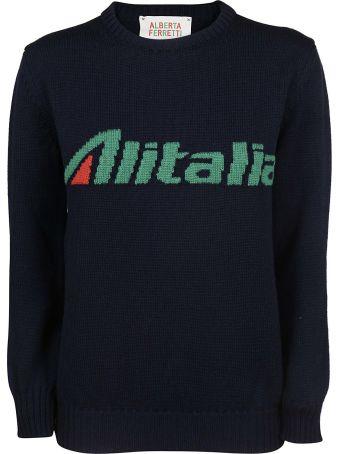 Alberta Ferretti Alitalia Sweater