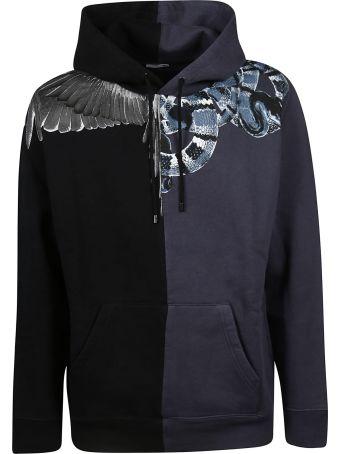 Marcelo Burlon Wings Snake Hoodie