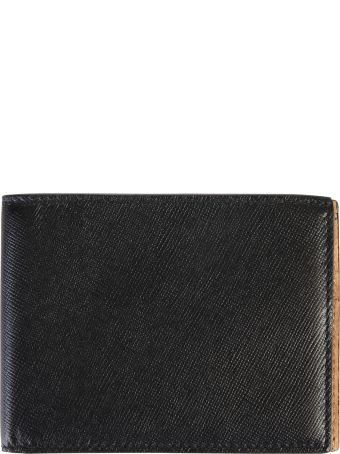 Common Projects Logo Print Leather Wallet