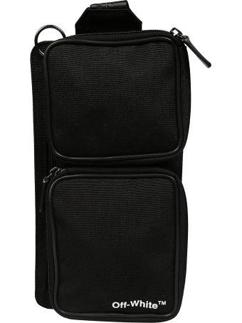 Off-White Cordura Logo Print Belt Bag
