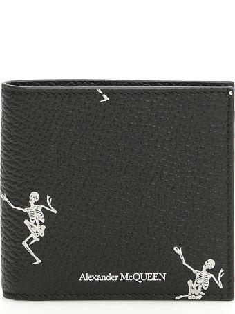 Alexander McQueen Dancing Skull Wallet