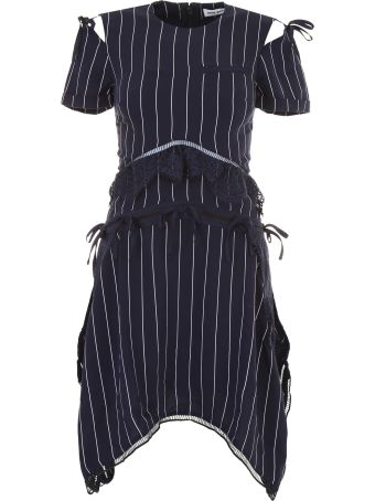 Striped Dress With Bows