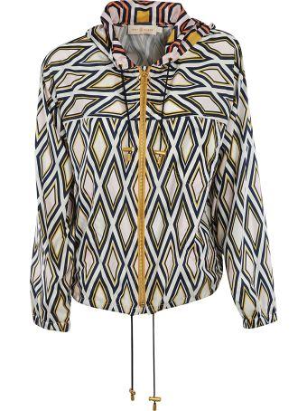 Tory Burch Diamond Pattern Jacket