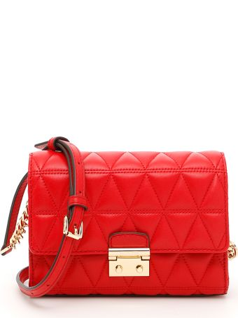 Quilted Ruby Bag