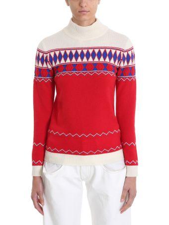 Maison Margiela Jacquard Printed Wool Sweatshirt