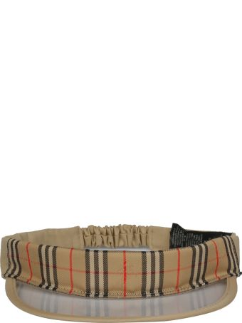 Burberry Check Sun Visor Hat