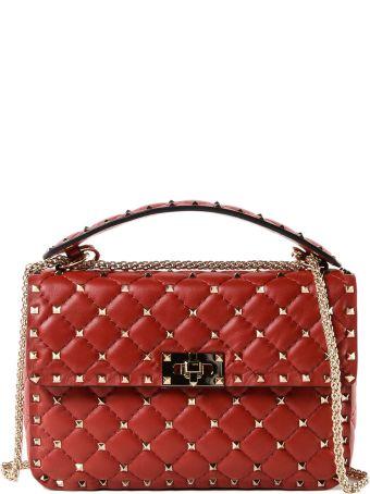 Valentino Garavani Rockstud Spike Md Shoulder Bag