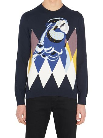 Ballantyne 'dyamond Parrot' Sweater