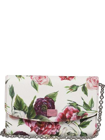 Dolce & Gabbana Floral Shoulder Bag