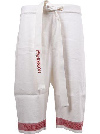 J.W. Anderson Logo Printed Shorts