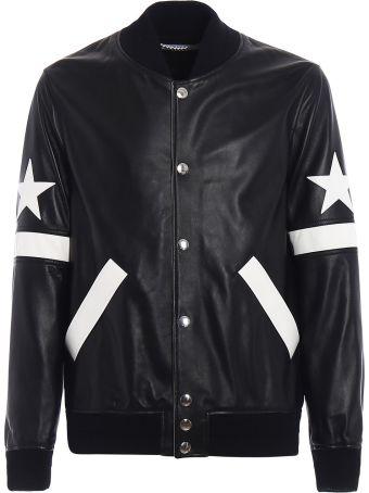 Givenchy Star Patch Bomber Jacket