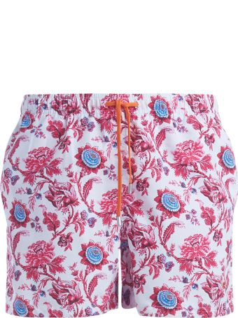Gallo Beach Boxer With Floral Print