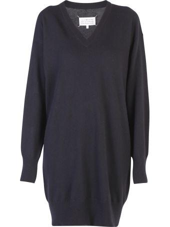 Maison Margiela Black Oversized Sweater