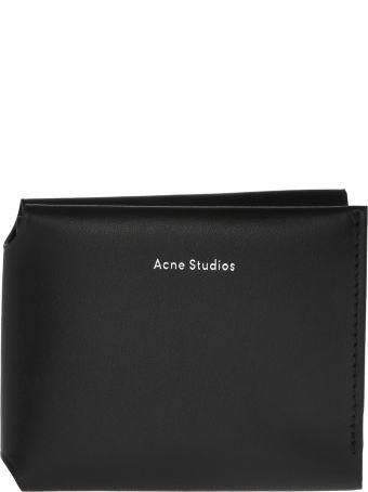 Acne Studios Logo Bifold Wallet
