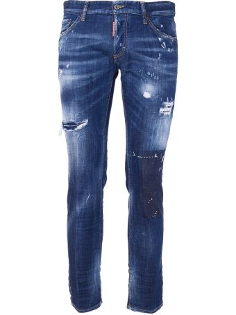 Dsquared2 1975 Patched Jeans
