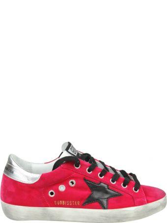 "Golden Goose Sneakers ""superstar"" In Velvet Color Fuchsia"