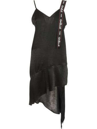 Gaelle Bonheur Asymmetric Short Dress