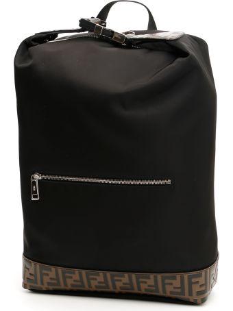 Fendi Nylon Ff Backpack
