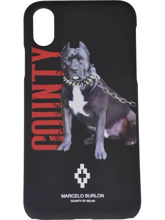 Marcelo Burlon Printed Dog Iphone X Case