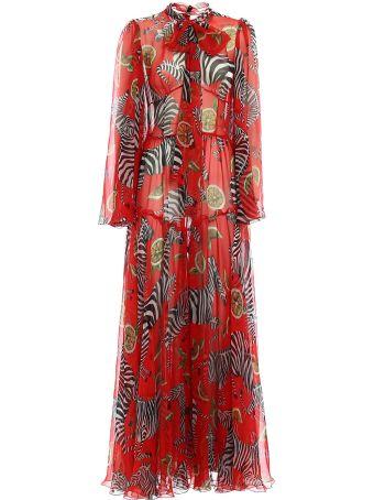 Dolce & Gabbana Chiffon Long Dress