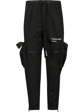 Off-White Cargo Pant Trousers