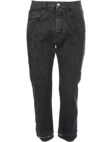 ih nom uh nit Logo Print Jeans