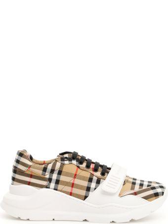 Burberry Vintage Check Runway Sneakers