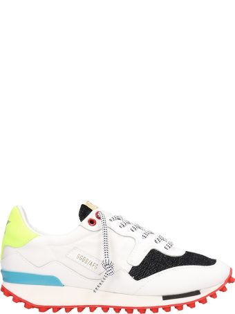 Golden Goose Starland White Black Yellow Sneakers
