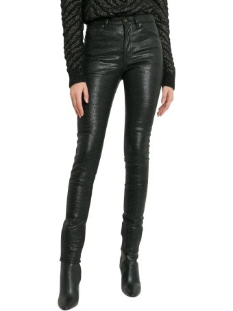 Saint Laurent Biker Trousers