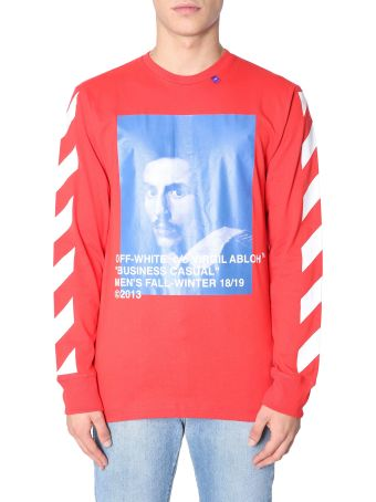 Off-White Long Sleeve T-shirt