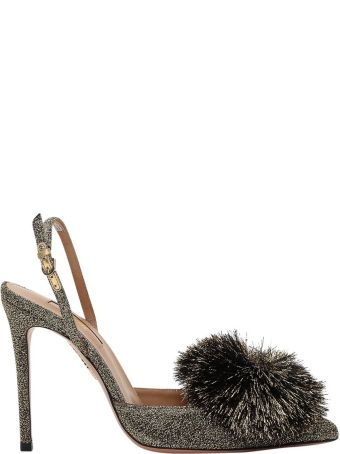 Aquazzura Golden Powder Puff