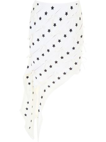 Star Print Mini Skirt
