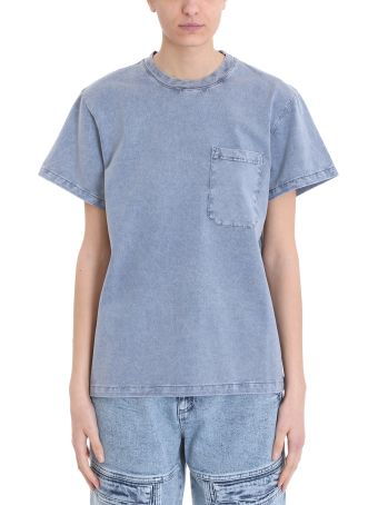 Stella McCartney 80 Style Washed Blue T-shirt