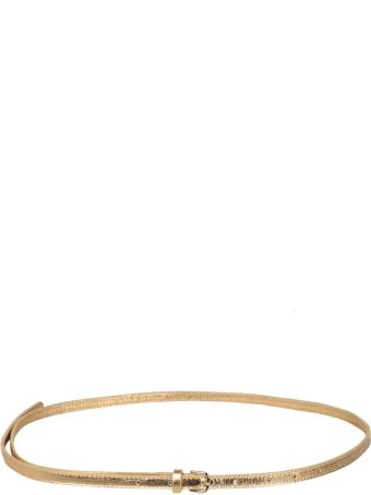 Dries Van Noten Laminated Leather Belt