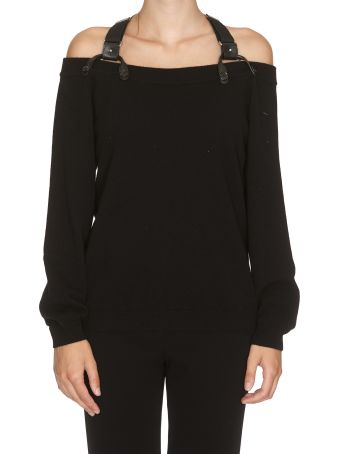 Moschino Off-shoulder Sweater