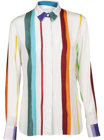 Paul Smith Brushstroke Stripe Shirt