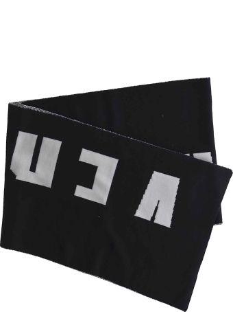 Versus Versace Logo Knit Scarf