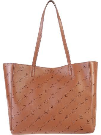 Stella McCartney Brown Monogram Small Bag