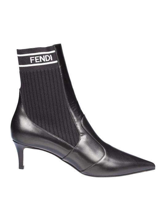 Fendi Rockoko Ankle Boots