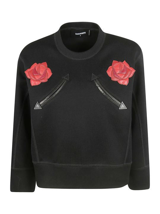 Dsquared2 Rose Sweatshirt