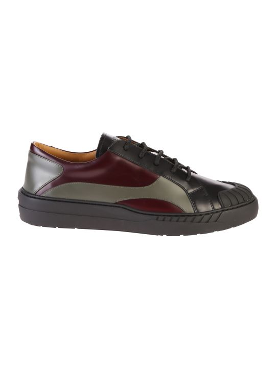 Valentino Garavani Multicolored Lace Up Sneakers