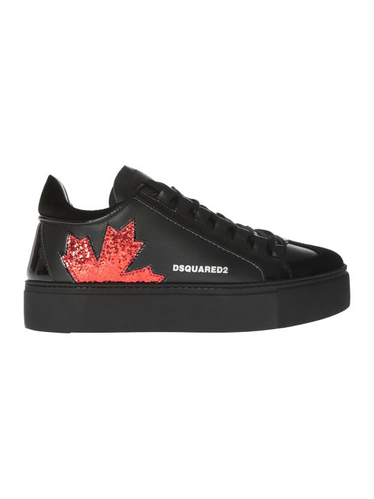 Dsquared2 Leaf Detail Sneakers
