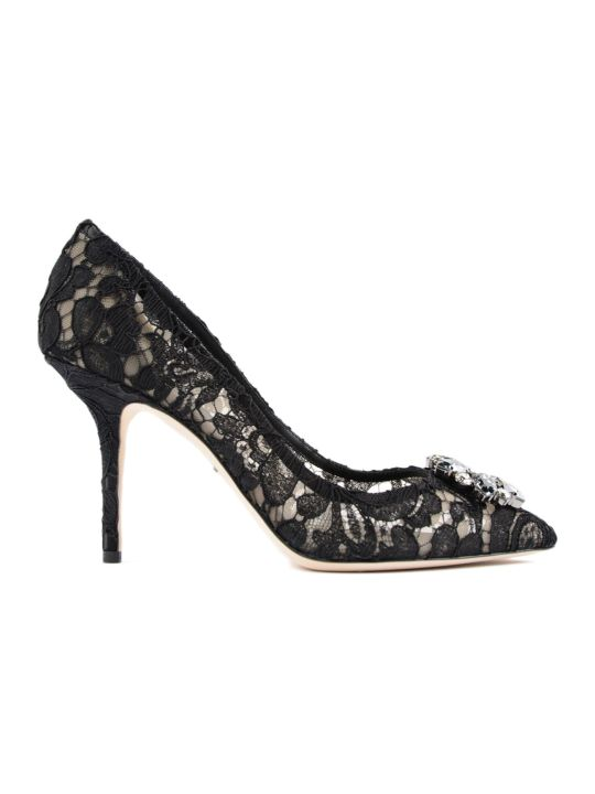 Dolce & Gabbana Lace Charmant Pump